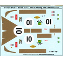 1970 Ferrari 512 S Gelo Racing Team LeMans